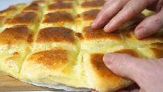Lahodná domácí tortilla plněná sýrem! Rychlá večeře pro celou rodinu hotová za 25 minut!   Vychytávkov Good Food, Yummy Food, Romanian Food, Hot Dog Buns, Mozzarella, Apple Pie, Cheesecake, Pizza, Goodies