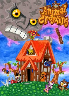 Animal Crashing: Animal Crossing + Legend of Zelda Majora's Mask = yes! :)