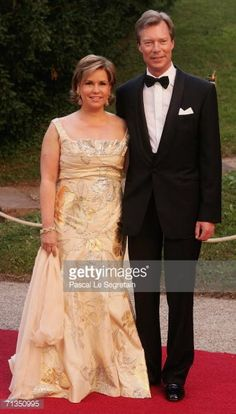 Grand Duchess Maria-Teresa and Grand Duke Henri of Luxembourg