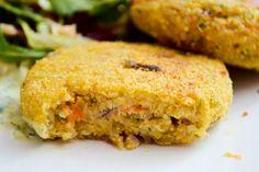 Quinoa Carrot Patties #quinoa #vegetarian #vegetarisch