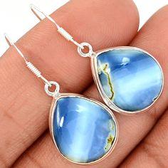 Owyhee Opal 925 Sterling Silver Earrings Jewelry OYOE17 - JJDesignerJewelry