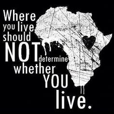 Where you live should not determine whether you live