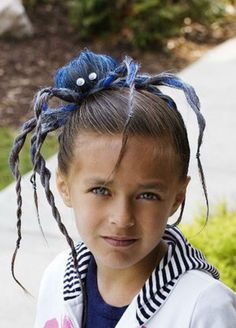 Best Indoor Garden Ideas for 2020 - Modern Crazy Hair For Kids, Crazy Hair Day At School, Crazy Hat Day, Hairstyles For School Boy, Fancy Hairstyles, Little Girl Hairstyles, Halloween Hairstyles, Carnaval Costume, Whoville Hair