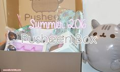 The Summer 2016 Pusheen Box is here! This quarterly subscription box is full of exclusive Pusheen merchandise that isn't available anywhere else online.  Pusheen Box | Pusheen The Cat | Kawaii | Subscription Box | Review | Summer | Unboxing |