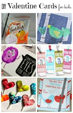 DIY Valentine Cards for Kids - Housing A Forest