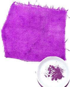 Tyrian Purple was the first aniline dye to be produced, patented and used. It was put into use in 1856 and changed the market. Previously all of the dyes had been natural, such as sea shells, berries, nuts or leaves. William Perkins was the inventor, brighter colours were seen after this year.