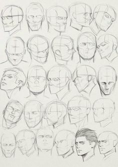 Face Drawing Reference, Art Reference Poses, Drawing Heads, Drawing Poses, Anatomy Drawing, Anatomy Art, Poses References, Drawing Expressions, Art Drawings Sketches