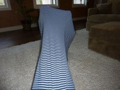 Make your Own Tunnel sock. This is a great activity for proprioceptive input- the kids love it!