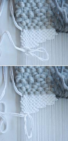 Weaving Tips || How to Weave a Rya Loop (video)
