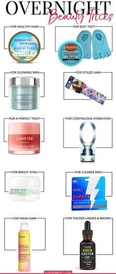 10 Overnight Beauty Tricks to Save Time | Slashed Beauty