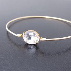 Bridesmaid Jewelry Sets  Choose 4 Bridal Bangle Bracelets