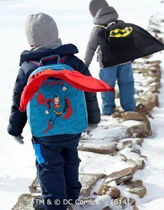 c48532e01e75 OMG...superhero backpacks ! Superman Cape