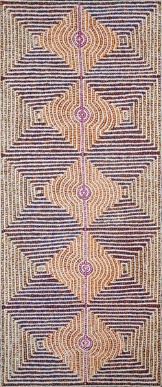 Gloria Gill NAPANGARDI_Ngurlu Jukurrpa  (Native Seed Dreaming) #painting #aboriginal #aborigene #contemporain Aboriginal Painting, Aboriginal Artists, Dot Painting, Painting & Drawing, Indigenous Australian Art, Indigenous Art, Australian Aboriginals, Street Art, Art Occidental
