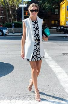 NEW YORK, NY - SEPTEMBER 04:  Socialite  Olivia Palermo is seen at Lincoln Center during Mercedes-Benz Fashion Week Spring 2015 on September 4, 2014 in New York City.  (Photo by Gilbert Carrasquillo/GC Images)