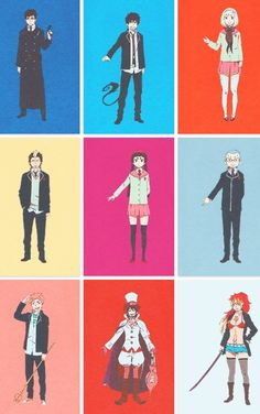 Yukio Rin Shiemi And Everyone Else