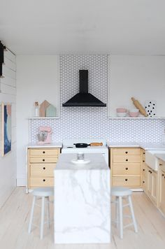 This Scandinavian Style Dollhouse is Everything I Want in a Real Kitchen