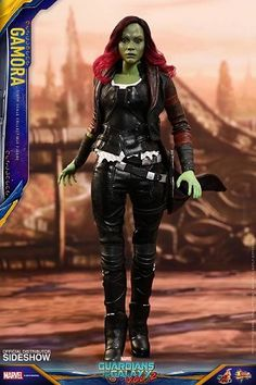 Hot Toys Guardians of the Galaxy Vol. Hot Toys – – Guardians of the Galaxy Vol. - Newly developed head sculpt with authentic and detailed likeness of Zoe Saldana as Gamora in Guardians of the Galaxy Vol. Star Lord, Hawkeye, Marvel Heroes, Marvel Dc, Gamora Marvel, Black Widow, Marvel Universe, Hulk, Guardians Of The Galaxy
