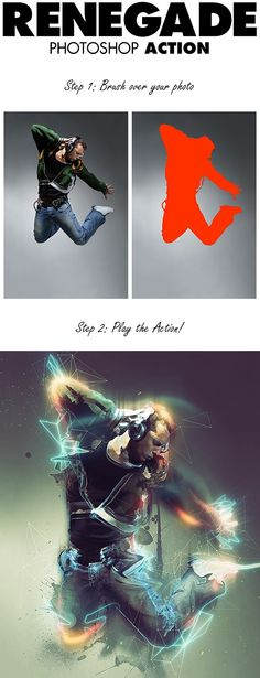 Renegade Photoshop Action Download Here: http://graphicriver.net/item/renegade-photoshop-action/13795246?s_phrase=&s_rank=3&ref=avtar-singh  Create professional photomanipulations with the Renegade Photoshop Action. The action has loads of layer customization ability and you are guided by a video tutorial with over 1 hour of tips & Tricks.