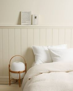 Reflections of whites off white paint colors, off white paints, stylish bedroom, cozy Bedroom Wall Colors, Wood Bedroom, Bedroom Layouts, White Bedroom, Bedroom Decor, Off White Paint Colors, Off White Paints, Dressing Table Modern, White Duvet