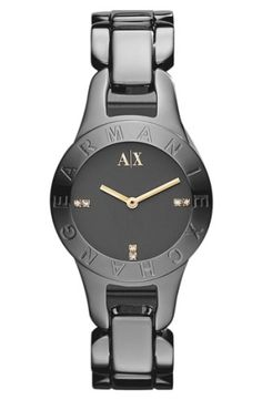 AX Armani Exchange Round Bracelet Watch $160.0 by nordstrom