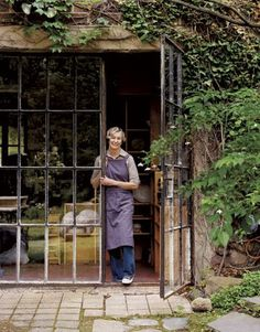 Ideas For Metal French Door Steel Windows, Steel Windows, Steel Doors, Windows And Doors, Casa Patio, Ceramic Studio, Sunroom, Glass Door, French Doors, My House