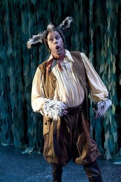 Bottom's Donkey Head 2011 photos of A Midsummer Night's Dream at the Utah Shakespeare Festival