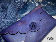 """tuto pochette en cuir par """"Lélie"""""""