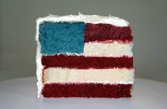 American Flag Cake Tutorial Fourth of July Cake 4th Of July Cake, 4th Of July Party, July 4th, Happpy Birthday, Sons Birthday, Birthday Cakes, American Flag Cake, American Pride, Cake Tutorial