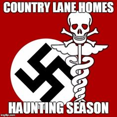 COUNTRY LANE HOMES HAUNTING SEASON | image tagged in corporate foster care | made w/ Imgflip meme maker