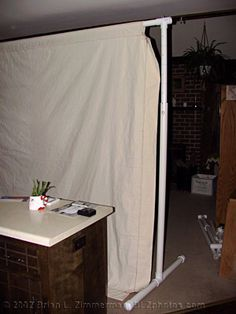 In The following article Brian will demonstrate how to build a DIY backdrop stand. & Studio Lighting - Home Made Cheap DIY Backdrop Stand ...