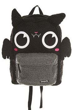 Loungefly Bat Plush Backpack | Hot Topic