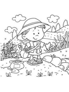 The Sower Information Age, Bible Coloring Pages, Fictional Characters, Bible Activities, Fantasy Characters