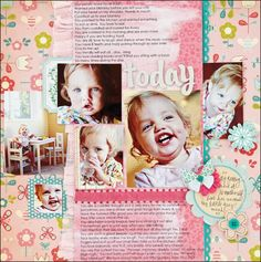tips for printing on patterned papers #scrapbooking