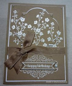 Stampin'up -Morning Meadow - Hostess Set
