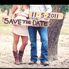 Love this! Country wedding
