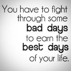Truth. Always keep your chin up no matter what's going on! You got this.