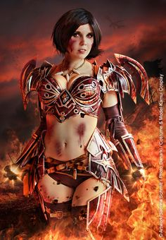 World of Warcraft Warrior Tier 5 Cosplay Kamui Cosplay Costume Tutorial Gorehowl Prop Weapon Female Armor, Video Game Cosplay, Edit My Photo, Steampunk Cosplay, Cosplay Armor, Angel Of Death, Best Cosplay, Awesome Cosplay, Dieselpunk