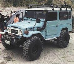 Toyota FJ Landcruiser #Throwback #ClassicCar