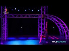 Anastasia Shaburova - Pole Art Cyprus 2014 - YouTube