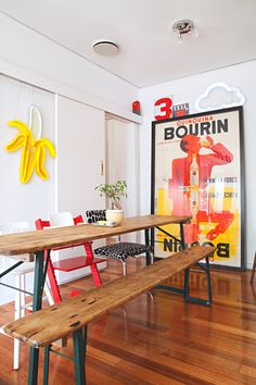 Natalie and Scott's Electric Neon Melbourne Home