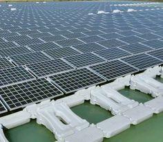 Concluídos no Japão Parques Solares Flutuantes com 11 Mil Painéis