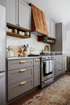 blacksplash tile - on the diamond. Kitchen Pictures From DIY Network Ultimate Retreat 2018 Diy Kitchen Storage, Home Decor Kitchen, New Kitchen, Home Kitchens, Kitchen Ideas, 10x10 Kitchen, Awesome Kitchen, Cheap Kitchen, Kitchen Counters