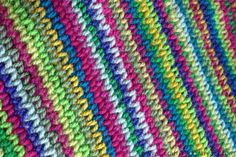 A free tutorial on how to crochet waistcoat stitch - from Crafternoon Treats. Used in the rainbow crochet tote bag made for the Stylecraft Yarns blog tour.