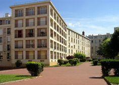 Fernand Pouillon, Víctor-Hugo residential complex, Pantin,1955-1957