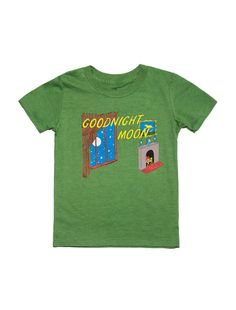 Look what I found from Out of Print! Goodnight Moon kids book t-shirt – Out of Print #OutofPrintClothing