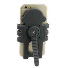 CoolPers Six Armed Monkey Phone Stand and Air Vent Car Mount, Portable Adjustable Stand and Holder from 3.5 Inch to 5.2 Inch for iPhone 6s and Samsung Galaxy S7 (Grey). Cute Six Armed Monkey Design for car vent holder, desktop stand and PC screen hook holder. Portable and adjustable for phones from 3.5 inch to 5.2 mounting in car, and also for bigger screens to 5.5 inch iPhone 6 Plus using as desk stand. Support phones - iPhone 6, iPhone 6 plus, iphone 5s, Samsung galaxy s6, Samsung…