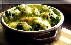 Tepsis brokkoli Veggie Recipes, Vegetarian Recipes, Healthy Recipes, Healthy Food, Vegan, Guacamole, Cauliflower, Roast, Food And Drink