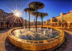 Fort Worth - TCU Campus - Frog Fountain | Flickr - Photo Sharing!