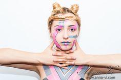 Creative makeup polylines Ph: Dmitriy Melnichenko Md: Limon Draculovich MuaH: Anna Vi