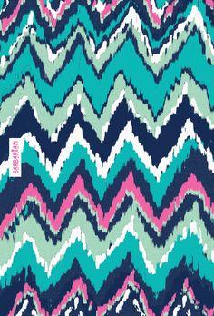 Wild at Heart Chevron wallpaper for iPhone and iPad #chevron #wallpaper